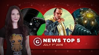 Woman Sues Over Windows 10; July's Free Xbox/PS Games! - GS News Top 5