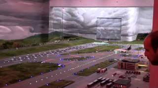 Maquete do aeroporto da Alemanha