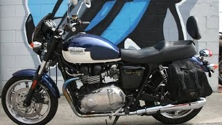 3. 2009 Triumph Bonneville SE ... Very Clean Classic Cruiser