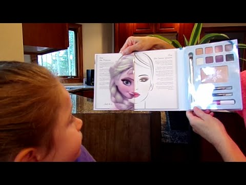 e.l.f. Elsa Disney Snow and Ice Beauty Book-Chloe's Toy Time (видео)