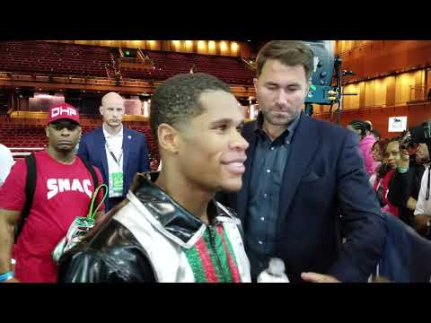 Breaking News: Devin Haney Talks Knockout Victory And Signing With Eddie Hearn And Dazn !!