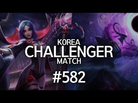 韓服菁英對決 #582 | Smeb, Ruler, Fury, GorillA, Blank
