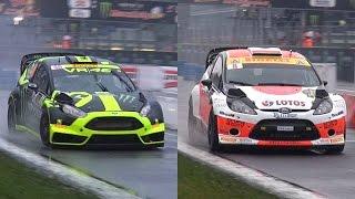 Video Valentino Rossi Vs. Robert Kubica - 2014 Monza Rally Master Show MP3, 3GP, MP4, WEBM, AVI, FLV September 2017