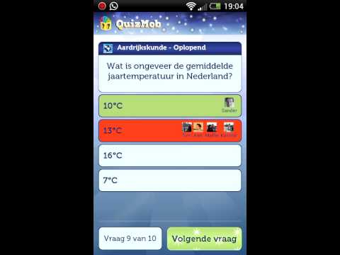 Video of QuizMob - Nederlandse quiz