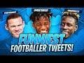 Download Lagu FUNNIEST FOOTBALLER TWEETS! 😂 Mp3 Free