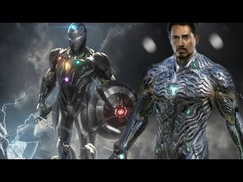 Tony Stark Vibranium Iron Man Suit Mark 85 - Avengers Endgame