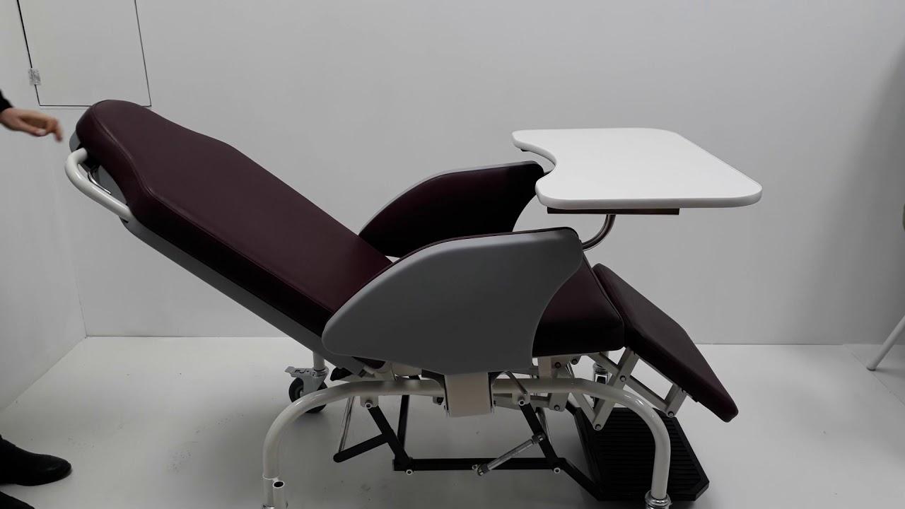 Новинка! Медицинское кресло для перевозки и отдыха больных