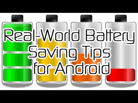 how to save a battery in android