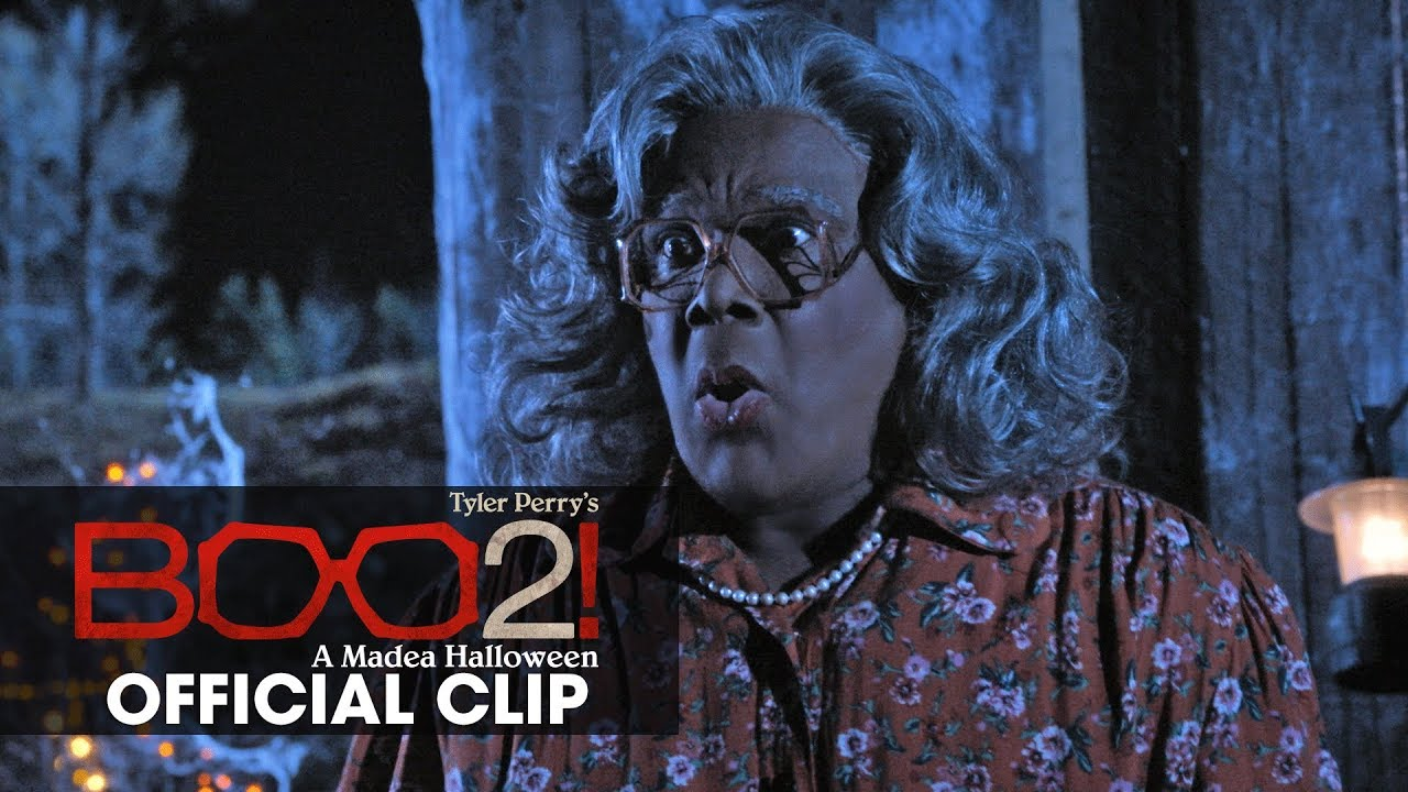The Struggle is Real in Tyler Perry's Comedy-Horror Sequel 'Boo 2! A Madea Halloween' (Clip)