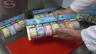PRODATE - 5 rlx - 250 étiquettes traçabilité une couleur au choix