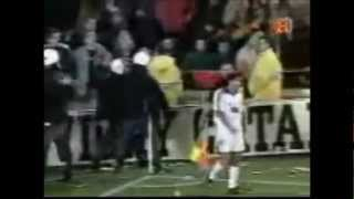 Figo in Spielen gegen den FC Barcelona