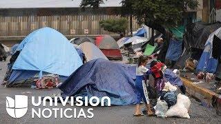 Video Autoridades dan ultimátum a los migrantes que permanecen afuera de un albergue en Tijuana MP3, 3GP, MP4, WEBM, AVI, FLV Desember 2018