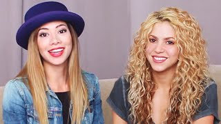 Video Reacting with Shakira to Her Old Videos! MP3, 3GP, MP4, WEBM, AVI, FLV Juli 2018