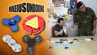 Fidget Spinners - Mikeius Unboxing