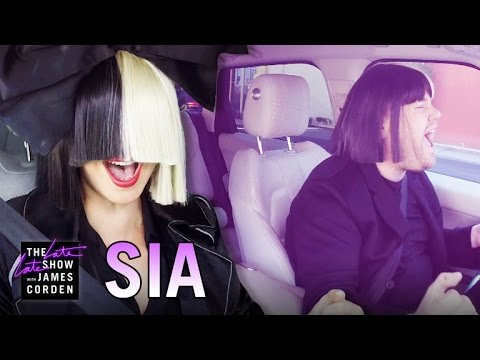 WATCH: Sia and James Corden Carpool Karaoke!