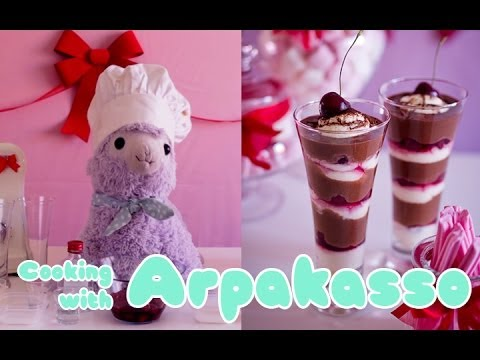 Cooking With Arpakasso! Valentine's Day Black Forest Verrine