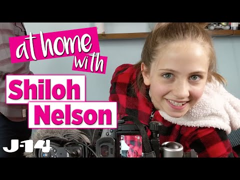 Feel the Beat Netflix Star Shiloh Nelson During Quarantine | At Home With