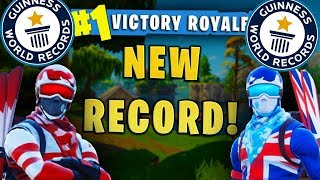 WE BROKE 2 RED HOUSE RECORDS IN 1 GAME!! (Fortnite Battle Royale)