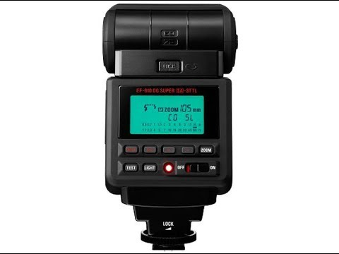 Sigma EF-610 DG Super Flash For Sony Unboxing