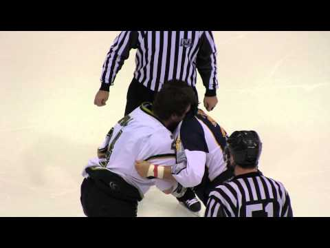 Hockey Fight with Best Ending Ever!