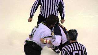 Epic Hockey Fight Ends In High Fives