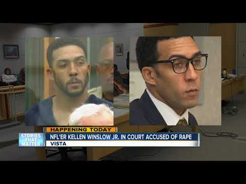 Former NFL player Kellen Winslow Jr. to reappear in court to face rape accusations