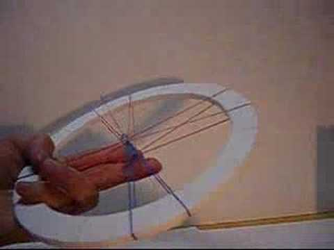 How to make the rubberband heat engine (4) wheel