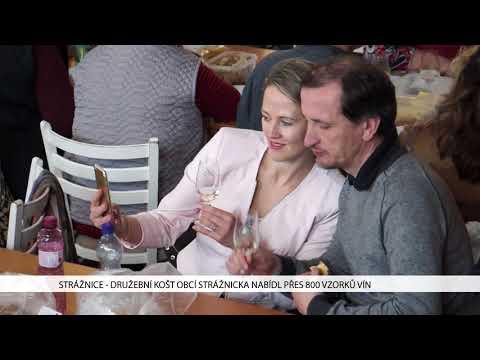 TVS: Strážnice - Košt vín nabídl na osm stovek vzorků