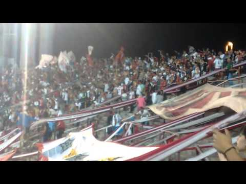Entra la Banda de la Quema - Huracán 3 San Lorenzo 1 - Torneo de verano 2016 - La Banda de la Quema - Huracán