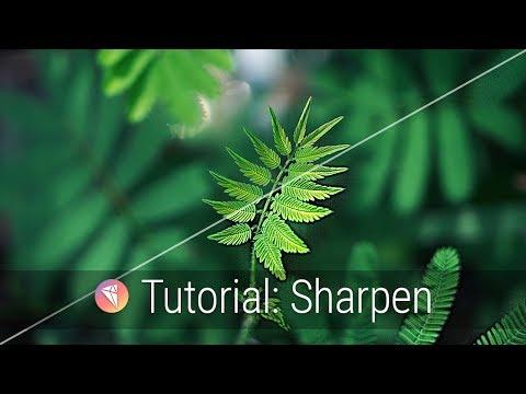 Sharpen Intro Tutorial