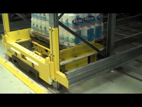 Shaefer Orbiter Pallet Storage System in Action