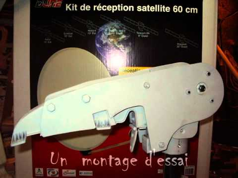 comment regler antenne satellite