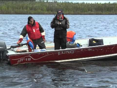 canadian walleye fishing trip