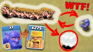 Video 275 BARBARIAN vs 1 MAX BOWLER - CLASH OF CLANS | WHO WINS ? | SHOCKING RESULT! | COC TROOPS BATTLE! MP3, 3GP, MP4, WEBM, AVI, FLV September 2017