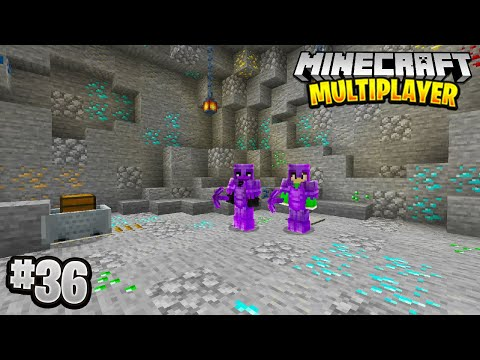 BEST CAVE EVER in Minecraft Multiplayer Survival! (Episode 36)