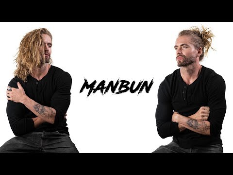 Mens hairstyles - The Man Bun