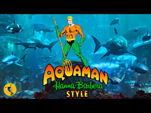 Aquaman SDCC Trailer Super Friends Animated Version