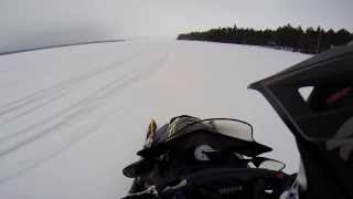 9. YAMAHA RX1 TURBO 200HP SNOWMOBILE | GOPRO