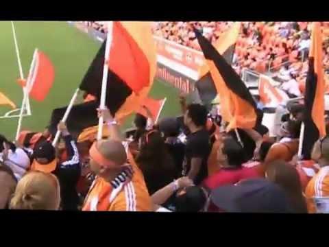 Video - EL BATALLON VS FC Dallas - The North End - Houston Dynamo - Estados Unidos