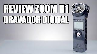 O Zoom H1 é um ótimo gravador digital com bom custo/benefício, que vai melhorar muito a qualidade de áudio dos seus vídeos!