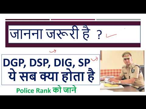 What is DGP, DSP, DIG, SP ?