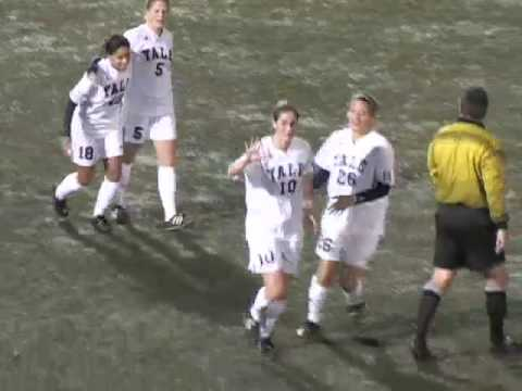 Video Highlights Oct. 30, 2008: Yale Women's Soccer vs Central Connecticut 2OT