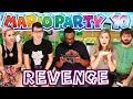 MARIO PARTY 10 GAMEPLAY - Revenge! (Feat. BlackNerd, ChrissaSparkles, Ogeeku, MrCheezyPop)