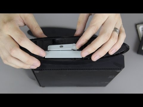 How To Upgrade the PlayStation 3's (Super Slim) Hard Drive! (SSD)