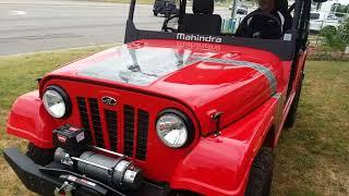 4. 2018 Mahindra Roxor Limited Edition // LE
