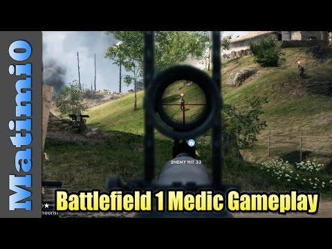 Battlefield 1 Combat Medic Gameplay – Multiplayer