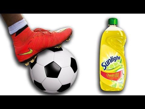 NTN - Thử Thách Đá Bóng Trên Xà Phòng ( Football On Soap ) (видео)