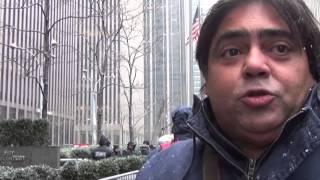 Protesto em Nova Iorque