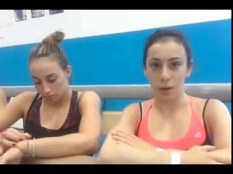 Le tre stelle della ginnastica Italiana si allenano a Fino Mornasco