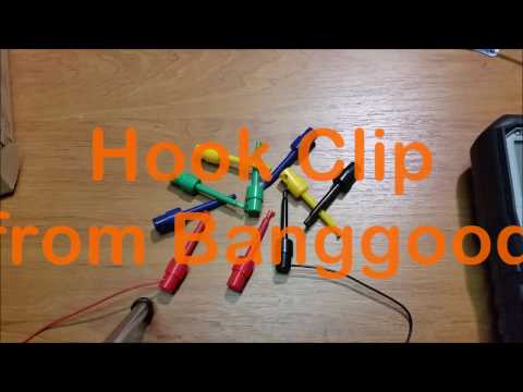 10 pcs. Single Hook Clip Test Probe from Banggood.com